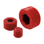 MOCAP - Hex Socket Plugs for NPT Threads