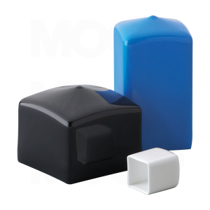 Square Plastic Caps For Product Protection And Finishing Manufactured By Mocap